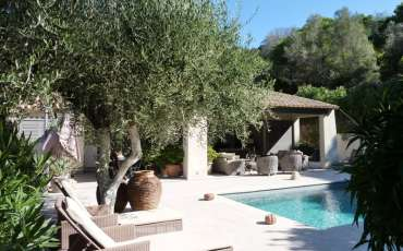 Luxury Saint Tropez Villa Cara lounge