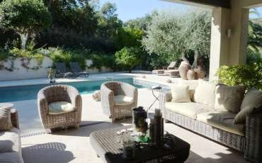 Luxury Saint Tropez Villa Cara terrace