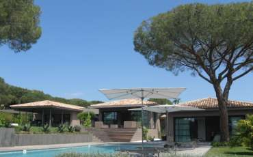 Luxury St. Tropez Villa Modena overview