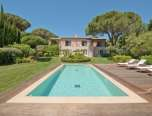 Luxury Saint Tropez Villa Andrea pool front view