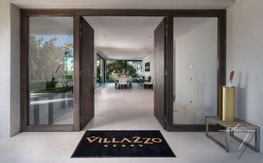 Luxury St. Tropez Villa Margot entrance