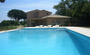 Luxury Saint Tropez Villa Anna pool