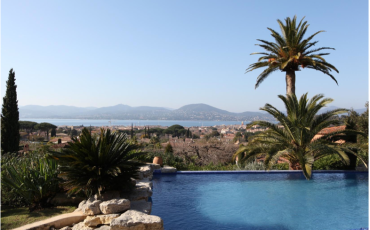 Luxury Saint Tropez Villa Belle Isnarde pool view