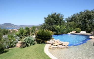Luxury Saint Tropez Villa Belle Isnarde pool view 2
