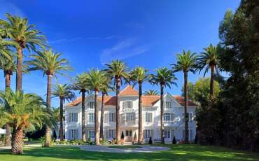 Luxury Villa Rental Chateau St Tropez, Center front