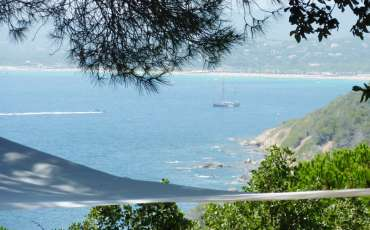 Luxury Saint Tropez Villa Julie view