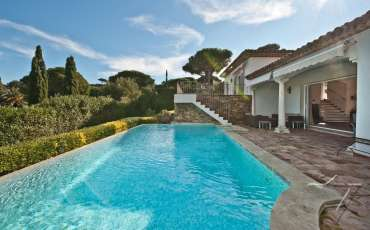 Luxury Saint Tropez Villa Annemarie pool