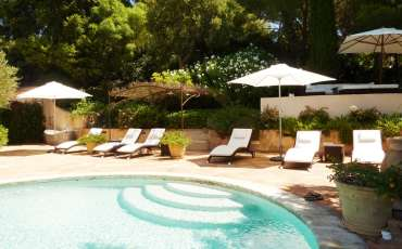 Luxury Saint Tropez Villa Julie pool