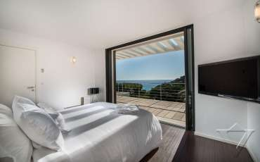 Luxury Saint Tropez Villa Jessica bedroom view