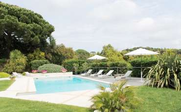 Luxury Saint Tropez Villa Alexia pool