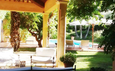 Saint Tropez Luxury Villa Natalia terrace