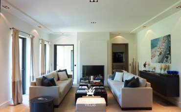Luxury Saint Tropez Villa Juliana livingroom