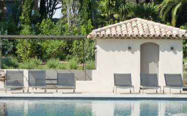 Luxury Saint Tropez Villa Juliana pool