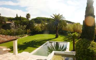 Luxury Saint Tropez Villa Club33 garden