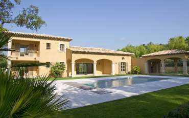 Luxury Saint Tropez Villa Louis XIV overview