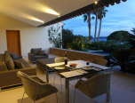 Luxury Villa Rental_Villa Azur_ terrace sunset